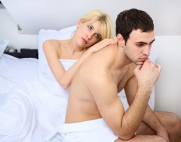 Erektilná dysfunkcia môže narušiť partnerský vzťah.