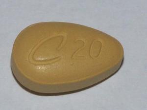 Tadalafil je účinnou látkou známej tabletky Cialis