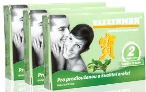 ELIXIRMAN - Prémiový prípravok na erekciu