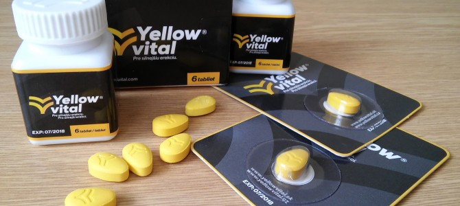 Príbalový leták Yellow vital