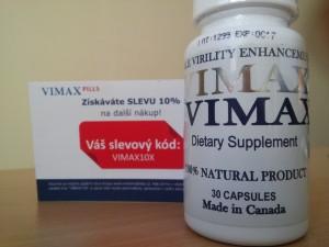 Zľavový kupón na ďalší nákup Vimaxu