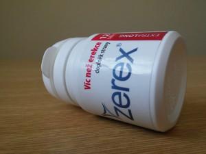 Zerex je obľúbený produkt na zlepšenie erekcie.