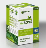 Erectan ManLONG sa užíva dlhodobo.