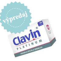 Veľký výpredaj Clavinu! Zlepšite si erekciu za akciové ceny