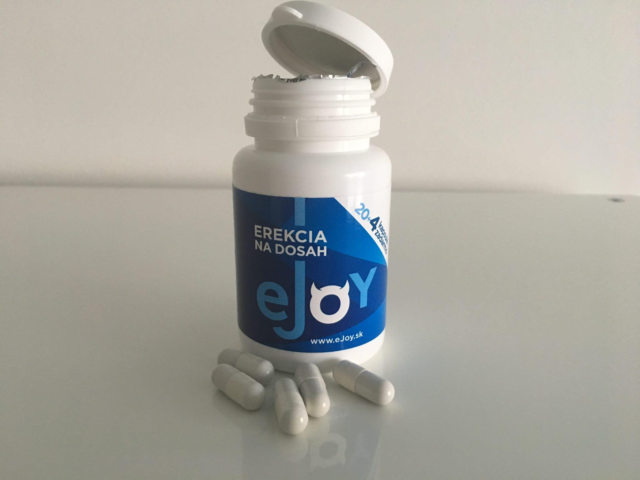 Tabletky eJoy na podporu erekcie