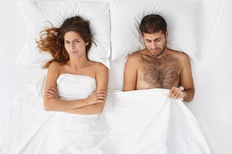Problém s erekciou u mladého muža