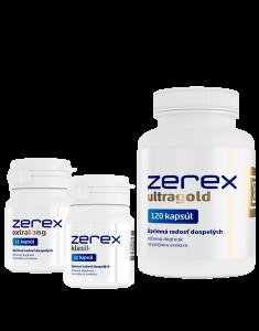 Cena Zerex megabalík - Zerex klasik, Extralong a Ultragold